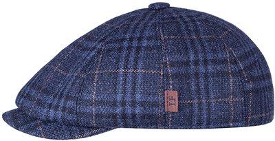 Кепка LF Charlie, тань (Италия) шерсть, цвет синий, клетка 041-25