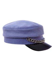 Картуз LF LADY, ткань пальтовая, цвет голубой