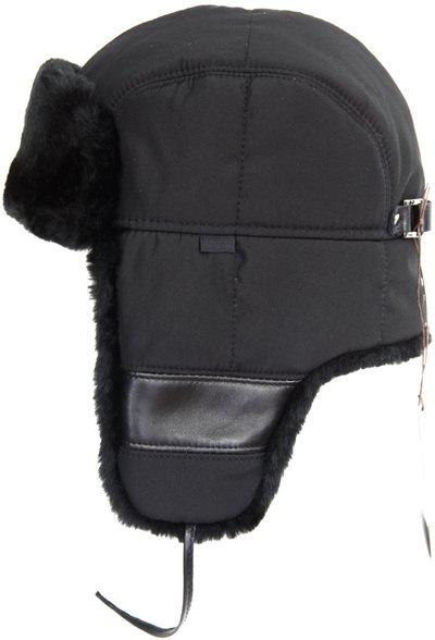 Ушанка LF Ballance, искусственный мех, ткань плащевая, цвет черный 3172-1