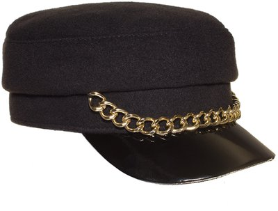Картуз LF LADY, ткань пальтовая, цвет черный 72-231-9