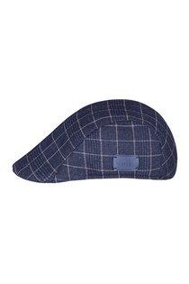 Кепка, ткань (шерсть), цвет синий