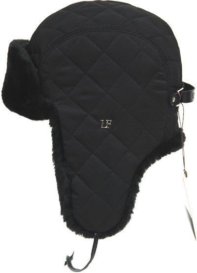 Ушанка LF-Rocky, искусственный мех, ткань плащевая, цвет черный 3622-1