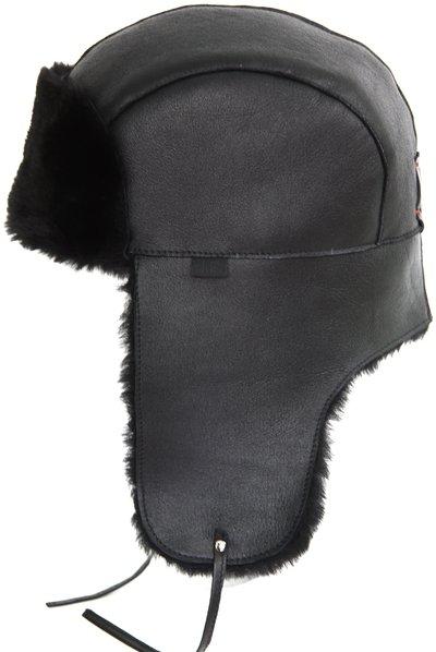 Ушанка LF Eclipse, овчина merinos, цвет черный 003