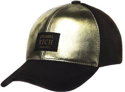 Бейсболка LF GOLD, кожа/замша 0701-17