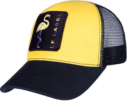 Бейсболка LF LADY Tracker, ткань хлопок, цвет жёлтый/чёрный 7514911