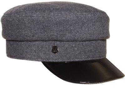 Картуз LF LADY, ткань пальтовая, цвет серый 71-231-36