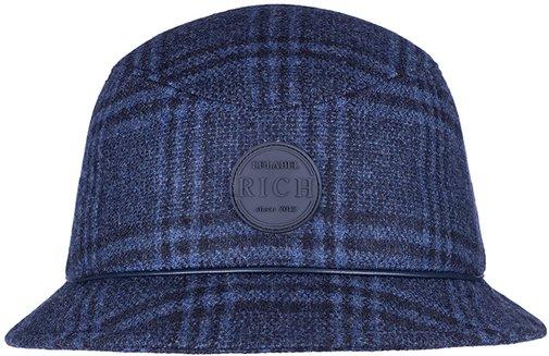 Панама, ткань (шерсть), цвет синий 261-55
