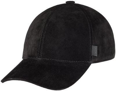 Бейсболка classic, замша, цвет черный 0701