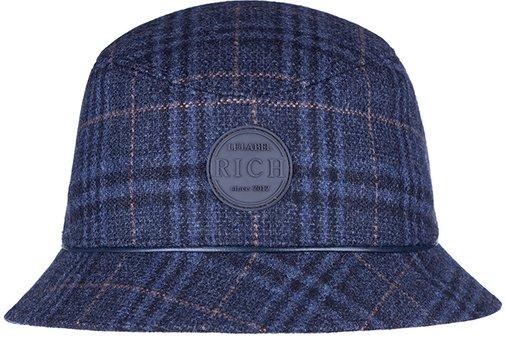 Панама, ткань (шерсть), цвет синий 261-25