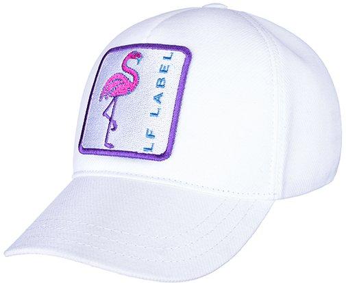 Бейсболка LF LADY Tracker, ткань хлопок, цвет белый 755510