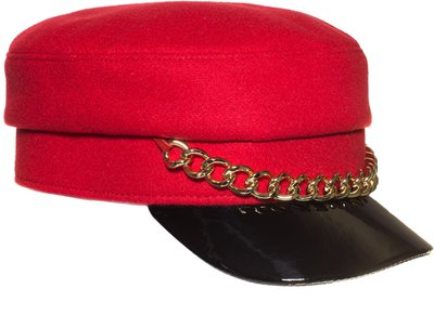 Картуз LF LADY, ткань пальтовая, цвет красный 72-231-10