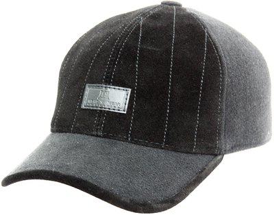 Бейсболка LF Alex, замша, драп, цвет черный 0701-9