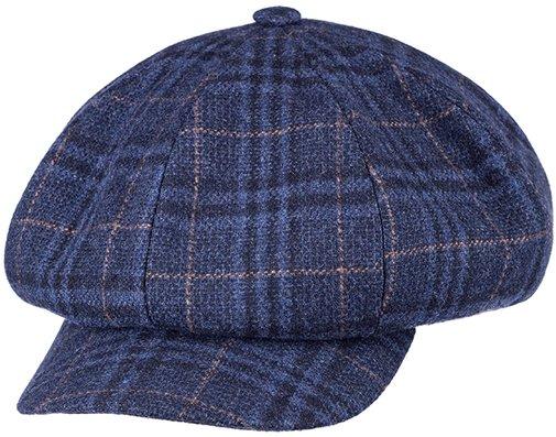 Кепка, ткань (шерсть), цвет синий 311-25