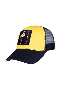 Бейсболка LF LADY Tracker, ткань хлопок, цвет жёлтый/чёрный